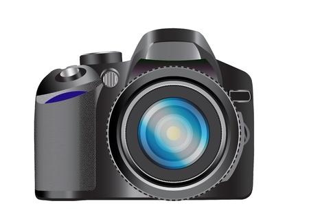 DSLR Camera Vector Images Illustration