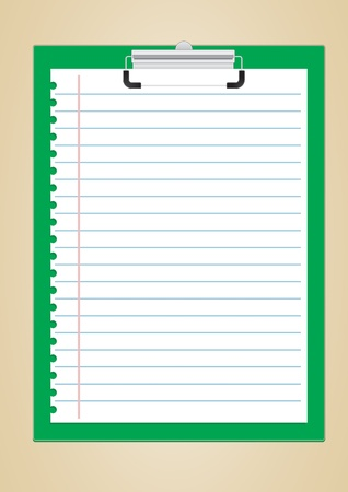 clipboard vector images Stock Vector - 22033374