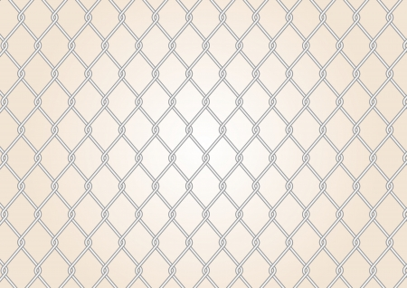 wire fence with danger signs vector images