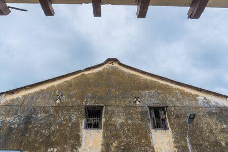 heritage house windows grunge texture wall