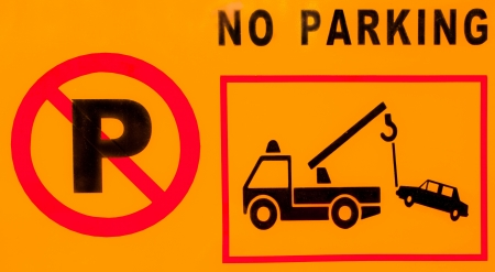 warning sign plate  Stock Photo - 22152961