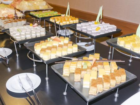 dessert buffet: dessert buffet