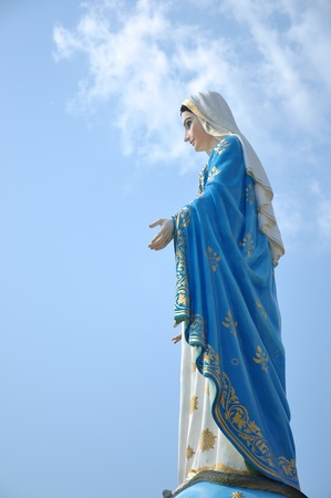 blessed virgin mary. mother photo