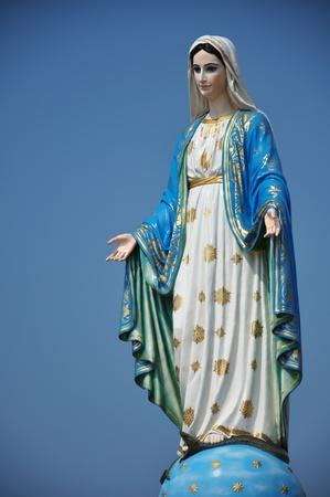virgen maria: Bienaventurada Virgen Mar�a. madre Foto de archivo