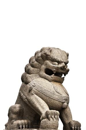 phen: lion statue