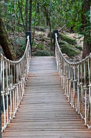 wooden bridge Stock Photo - 10015192