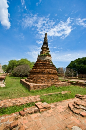 Old Siam Temple of Ayutthaya, Thailand  Stock Photo - 14133433