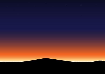 Twilight sky background.