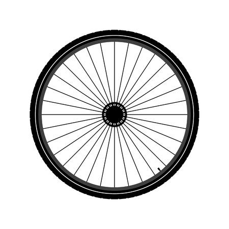 Roue de vélo Illustration Banque d'images - 31949746