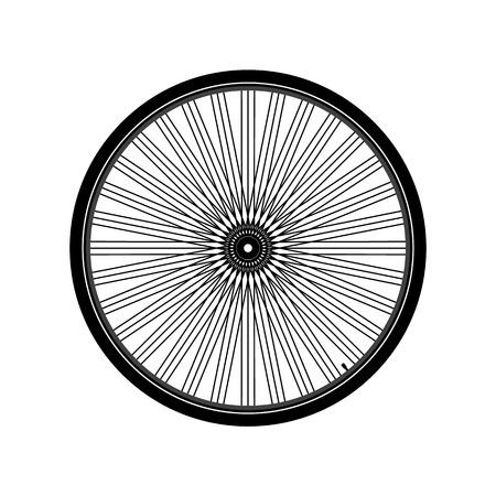 Bicycle wheel Illustration 向量圖像