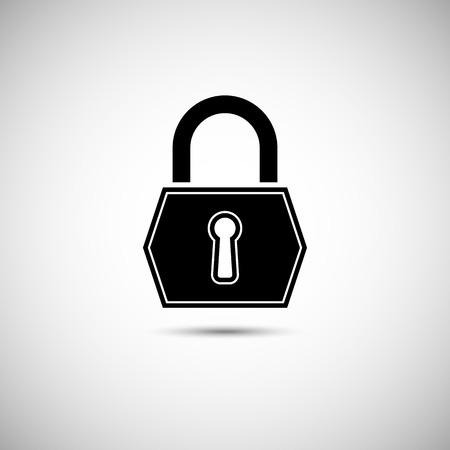 Lock Icon Illustration
