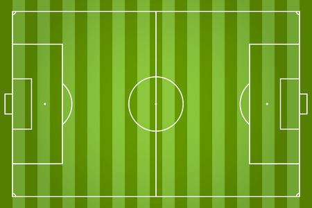 sideline: Verde campo de f�tbol