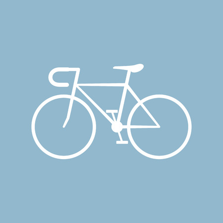 pedaling: bicycle. vector illustration