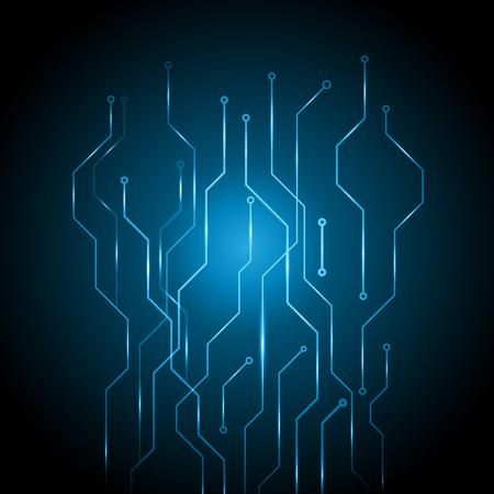 Abstract circuit digital technology vector illustration texture background Illustration
