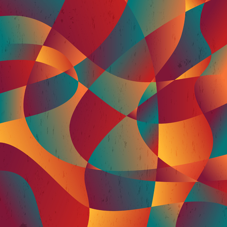 Abstract colorful curve shape background, vector illustration. Illustration