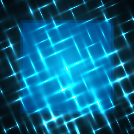 Abstract light background with blank frame space vector illustration
