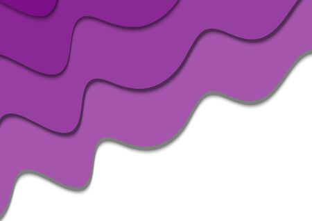 Abstract color art fluid wave background vector illustration