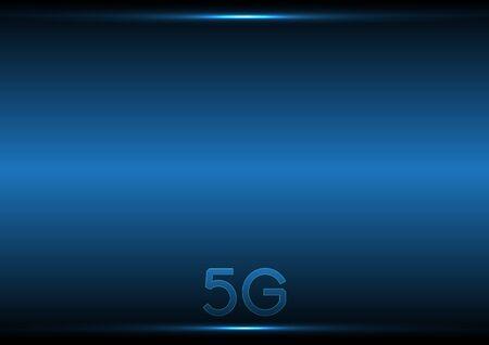Fondo abstracto de tecnología 5G