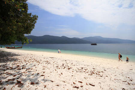 Ko lipe island thailand travel Stock Photo