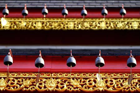 phen: Heart bells at Wat Banden Maetang Chiangmai, Thailand