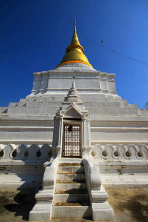 Wat Phra Kaeo Don Tao, Lampang Thailand Stock Photo