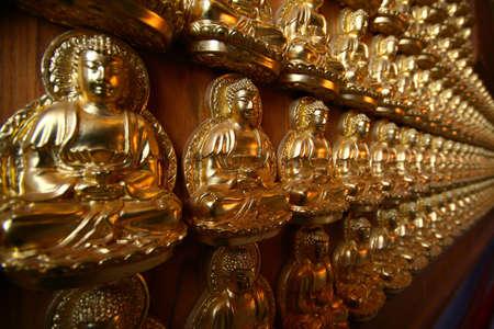 Zen Buddha statue in Thailand wat thai