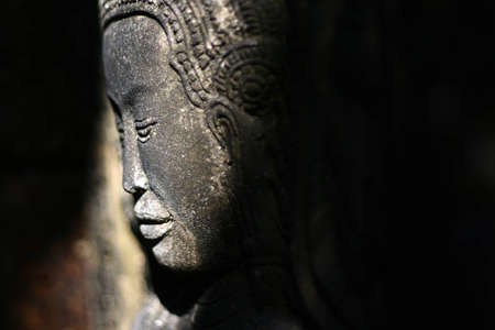 Thai art buddha statue in Thailand