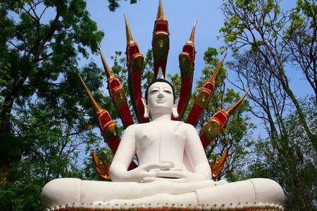Buddha statue at  Thamphathai National Park, Lampang,  Thailand