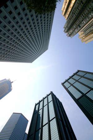 Concrete jungle at Hong Kong