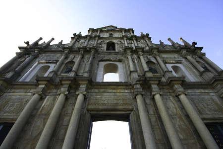 Ruins of St  Paul at MACAU