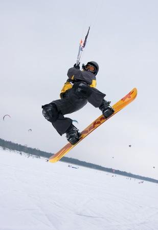 Snowkiter Stock Photo - 12201049
