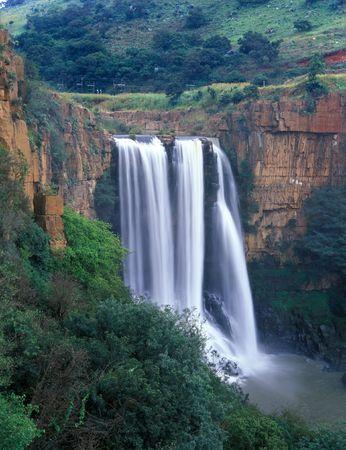 Beautiful waterfall in Mpumalanga state of South Africa Stock Photo - 2501721