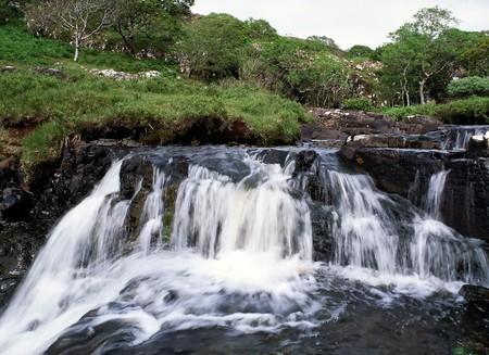 Mull: Small waterfall in Mull island