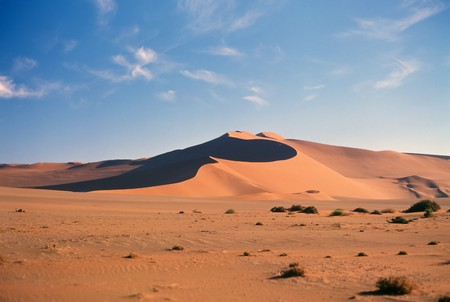 Panoramic view on Namib desert  Stock Photo - 4329089