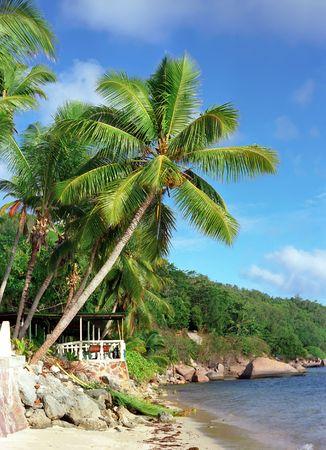 fantastic view: Fantastic view on Seychelles island