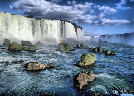 Iguacu falls from brazilian side