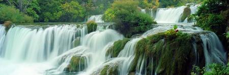 krk: Panorama Krk falls