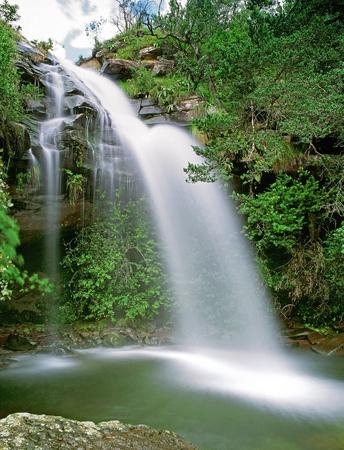 ドリーン滝大聖堂ピーク国立公園、南アフリカ