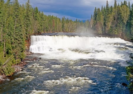 Dawson Falls, Murtle River, Wells Gray Provincial Park, British Columbia, Canada Stock Photo - 11744558