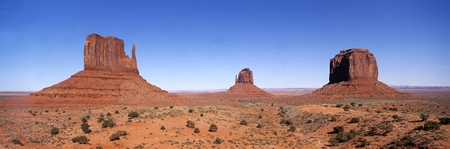 Panoramic view on Monument valley Stock Photo - 11744898