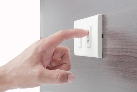 electrifying: Hand  poking plug
