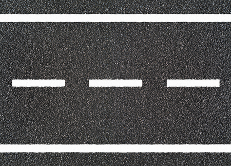 road surface: Road asphalt with white stripe Stock Photo