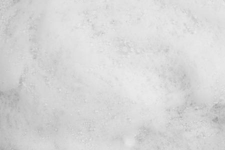 Foam bubble from soap or shampoo washing on top view Foto de archivo - 112894924
