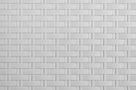 Gray plastic weaving pattern art abstract texture background ,photo backdrop decoration design Foto de archivo - 112894945