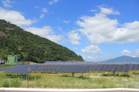 solar farm: Convergence Energy solar cell in south korea,solar farm