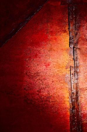 oxidado: Rojo-amarillo los colores de un �xido