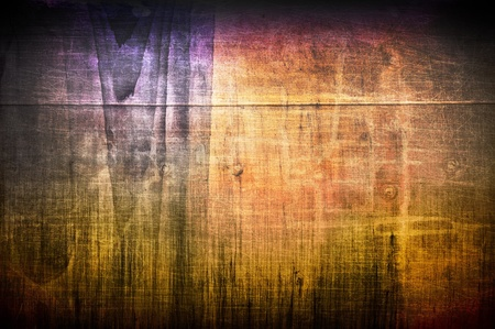 lurid: Background in style grunge. The spilled oil on an iron barrel of lurid color, and a shabby texture on top.