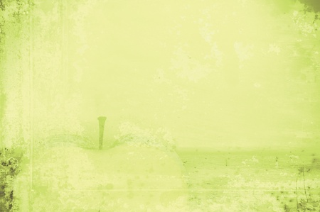Art abstract background, a light green color. Texture in style grunge Stock Photo