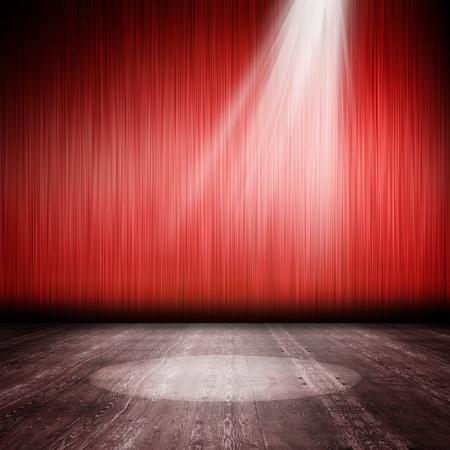 teatro: Antecedentes en el estilo vintage. Del Interior, brill� con un proyector