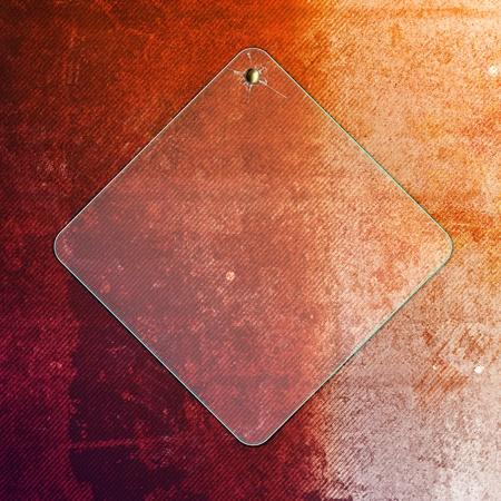 metal frame: grunge creative background